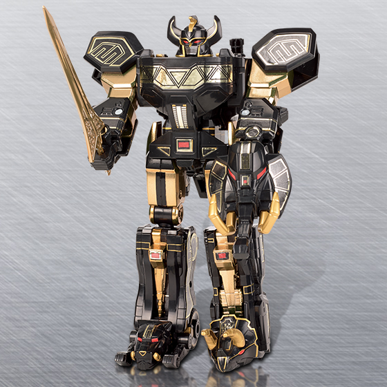 Power Rangers Limited Black Edition Legacy Megazord