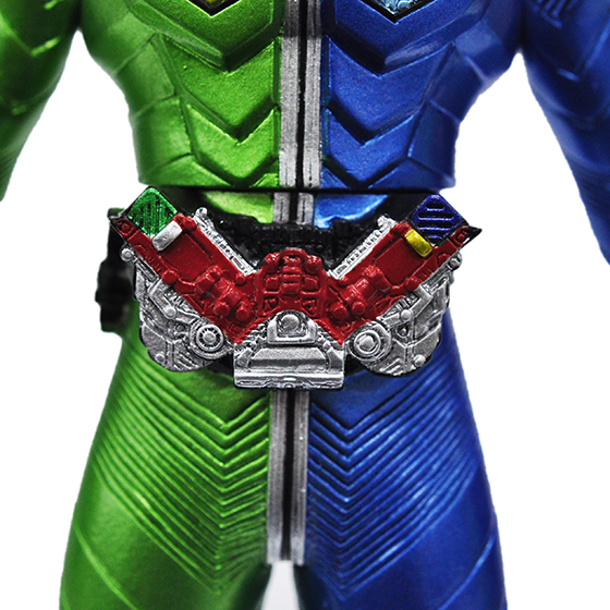 Soft Figure KAMEN RIDER W TRIGGER  Limited Edition 3-in 1 Set