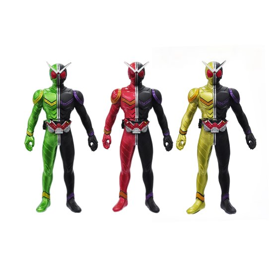Soft Figure KAMEN RIDER W Limited Edition Complete Set 9-in 1 Set[2013年2月發送]