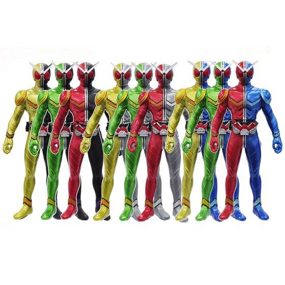 Soft Figure KAMEN RIDER W Limited Edition Complete Set 9-in 1 Set [2013年4月發送]