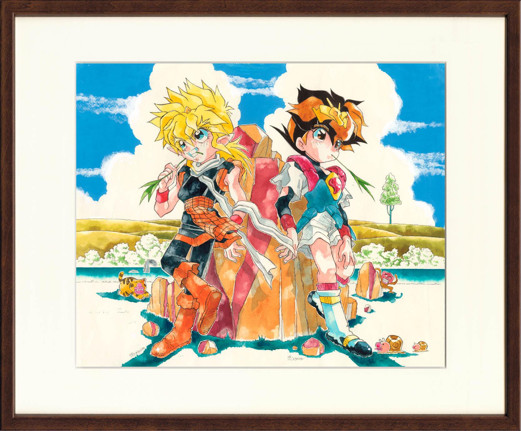 CHO MASHIN HERO WATARU TOYOH ASHIDA ~WATARU & TORAOH~ REPLICA ART