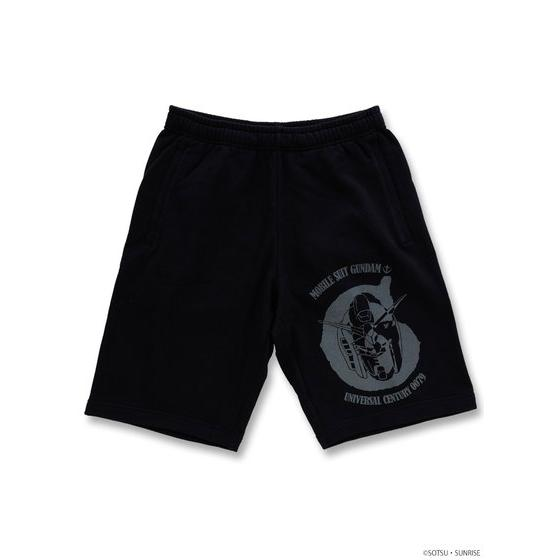 GUNDAM MOBILE SUIT / CHAR'S ZAKU II MOBILE SUIT GUNDAM SWEAT SHORTS [2017年9月發送]
