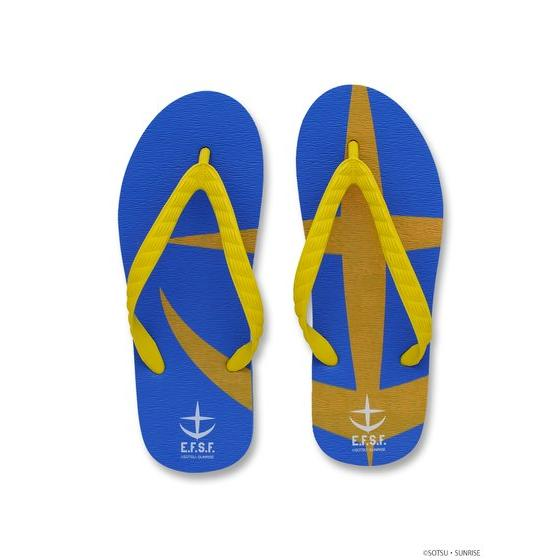 E.F.S.F. MOBILE SUIT / ZEON MOBILE SUIT GUNDAM BEACH SLIPPERS
