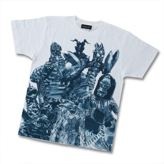 菅原芳人計畫 鹹蛋超人怪獣 T-shirt(灰藍色)