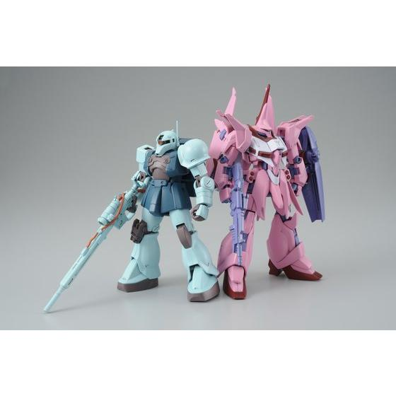 [新年感謝祭 會員限定販售] HG 1/144 BAWOO GPB COLOR & ZAKU I SNIPER TYPE GPB COLOR