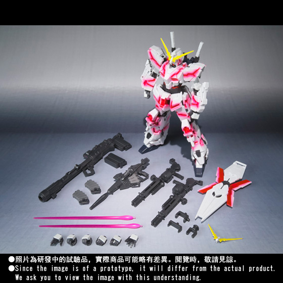 ROBOT魂 〈SIDE MS〉 獨角高達(精神感應骨骼發光設計)