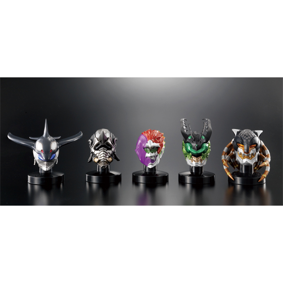 [Bandai Asia Web Shop 聖誕特別活動] Mask Collection Premium Kamen Rider 000 5 Greeed Set