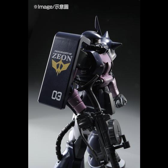 【高達模型感謝祭2.0】MG 1/100 MS-06S ZAKUII(BLACK TRI-STARS CUSTOM)VER.2.0