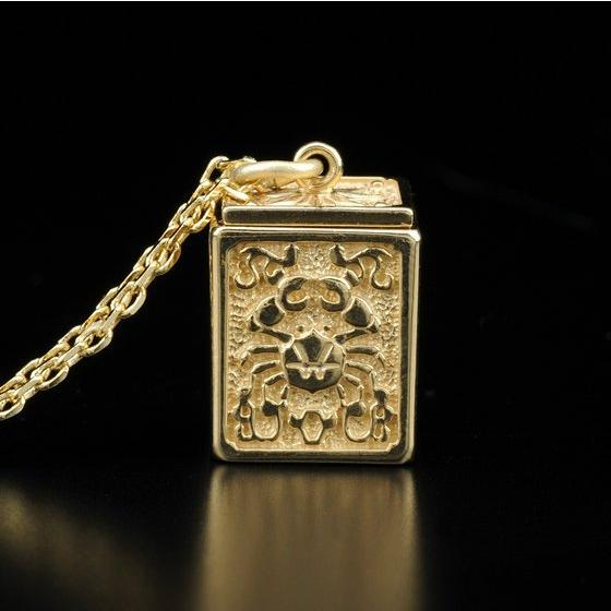 GOLD CLOTH BOX PENDANT CANCER [2017年2月發送]