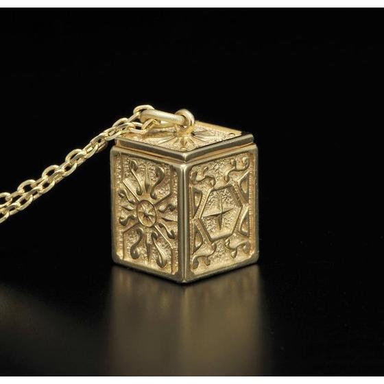 GOLD CLOTH BOX PENDANT SCORPIO