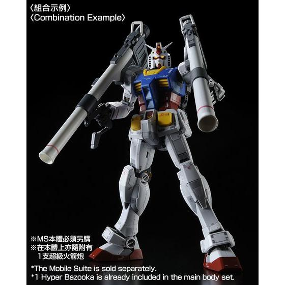 MG 1/100 Custom Set for MG RX-78-2 Gundam Ver.3.0 【PB Showroom 限量再販!】