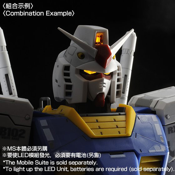 [新年感謝祭 會員限定販售] MG 1/100 CUSTOM SET for MG RX-78-2 GUNDAM Ver.3.0