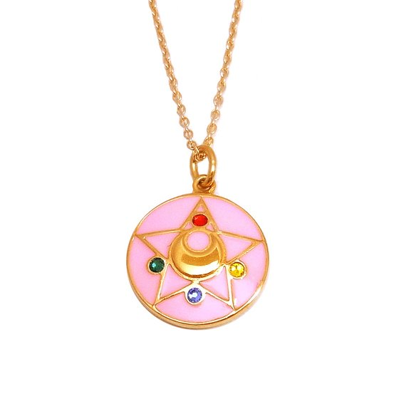 Sailor moon R Crystal brooch design Silver925 pendant(Color) [Sep 2014 Delivery]