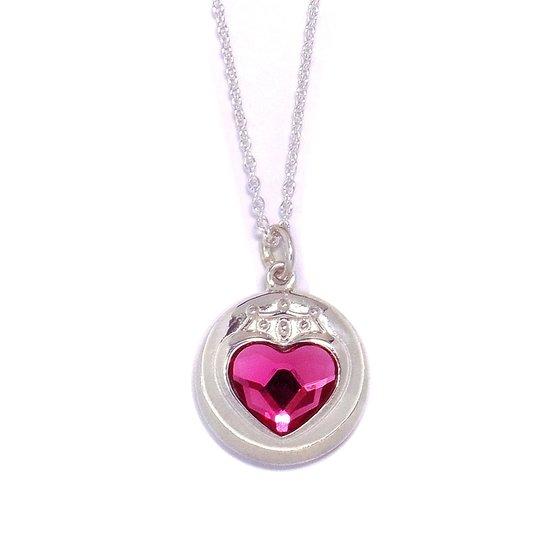 Sailor moon S Chibi Moon prism heart compact design Silver925 pendant