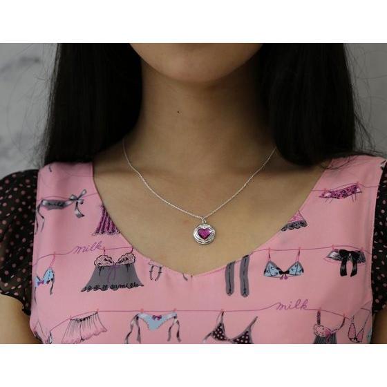 Sailor moon S Chibi Moon prism heart compact design Silver925 pendant [2015年8月發送]