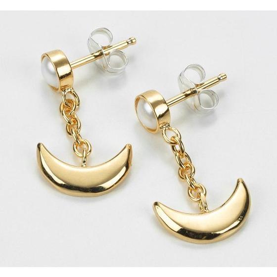 Sailor moon Silver925 pierce Gold coarting [Jul 2014 Delivery]