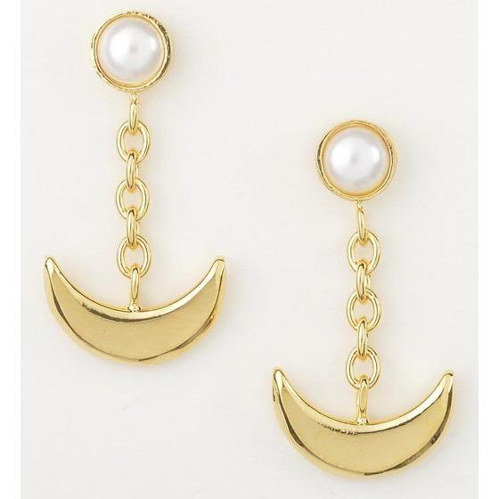Sailor moon Silver925 pierce Gold coarting [2016年5月發送]