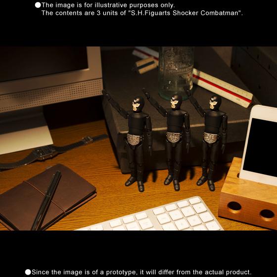 S.H.Figuarts SHOCKER COMBATMAN Japan Aggressive Attack Set (3 sets)