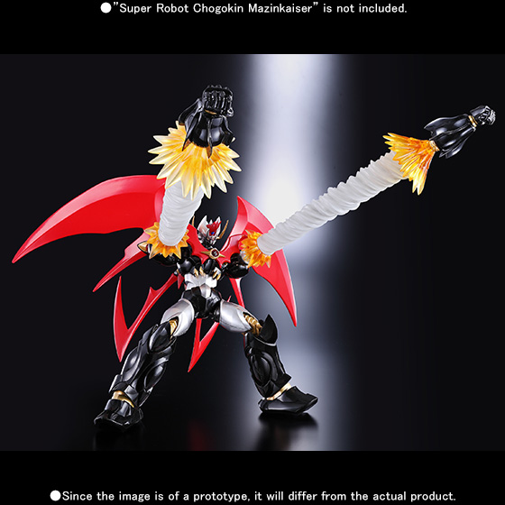 Super Robot Chogokin Dynamic Option Part Set
