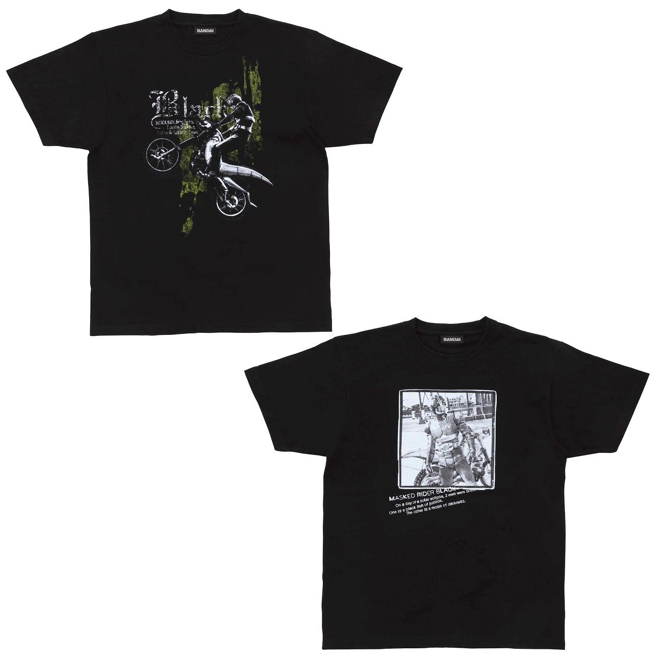 Yoshihito Sugahara Project Kamen Rider BLACK T-shirt