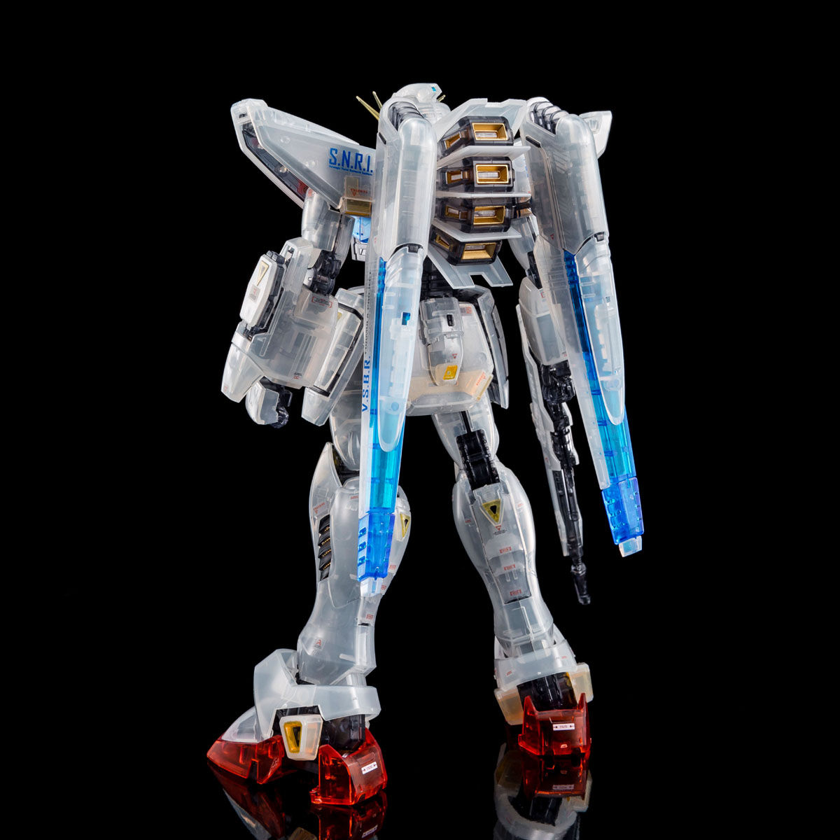 MG 1/100 GUNDAM F91 Ver.2.0 (AFTERIMAGE COLOR)