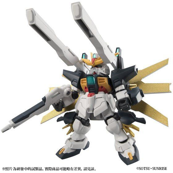 MS ENSEMBLE EX07 GUNDAM DX&G FALCON SET