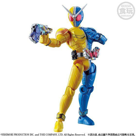 SO-DO CHRONICLE KAMEN RIDER W: SHOCK OF W/NOW, IN THE RADIANCE W/O GUM