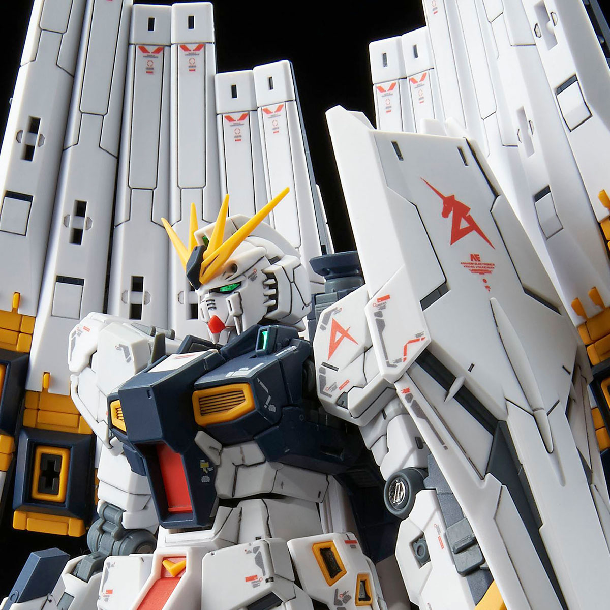 RG 1/144 EXPANSION PARTS for ν GUNDAM DOUBLE FIN FUNNEL CUSTOM UNIT [2019年12月發送]