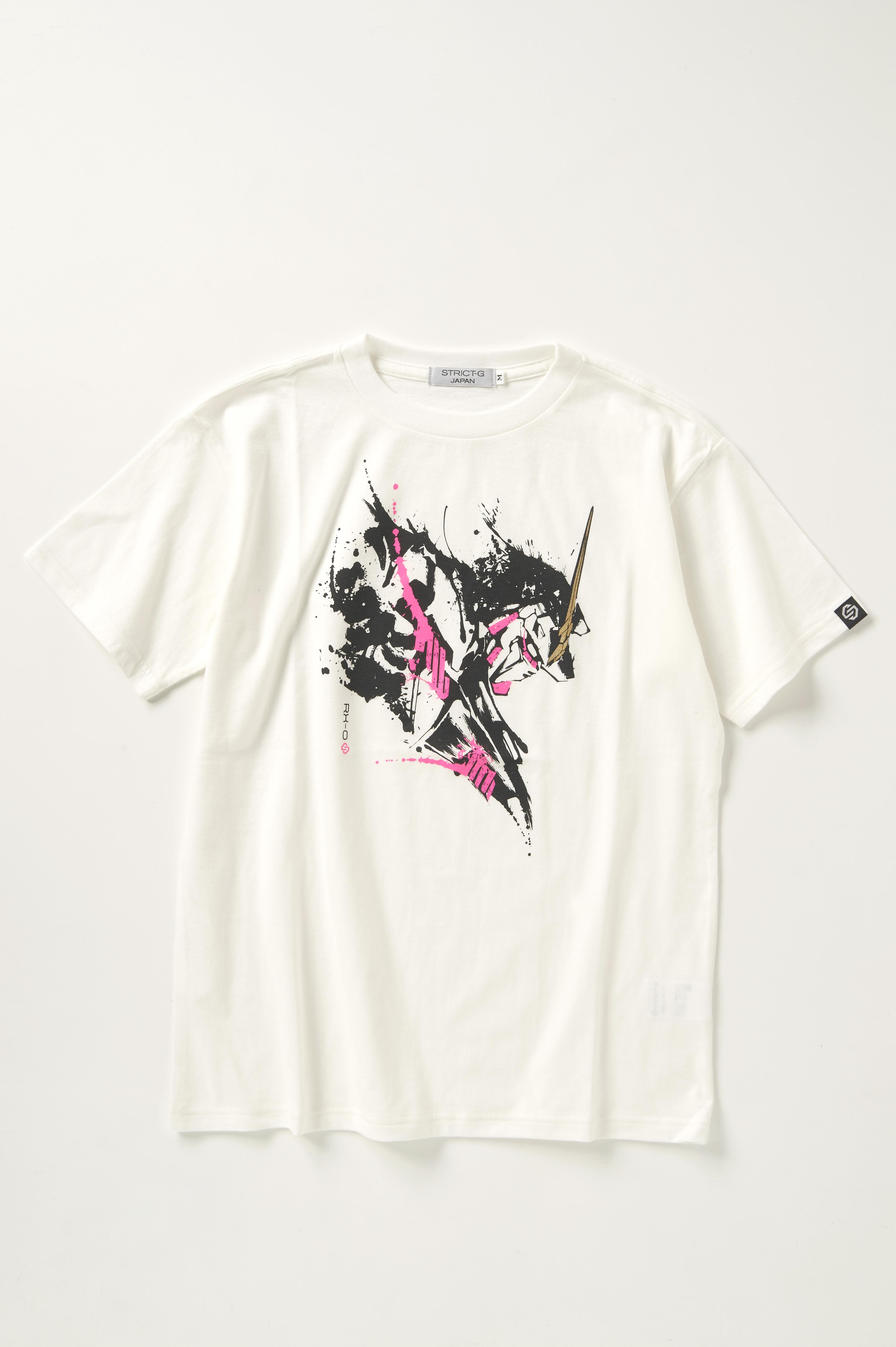 STRICT-G JAPAN《機動戰士高達UC》獨角獸高達 水墨畫風 T-SHIRT