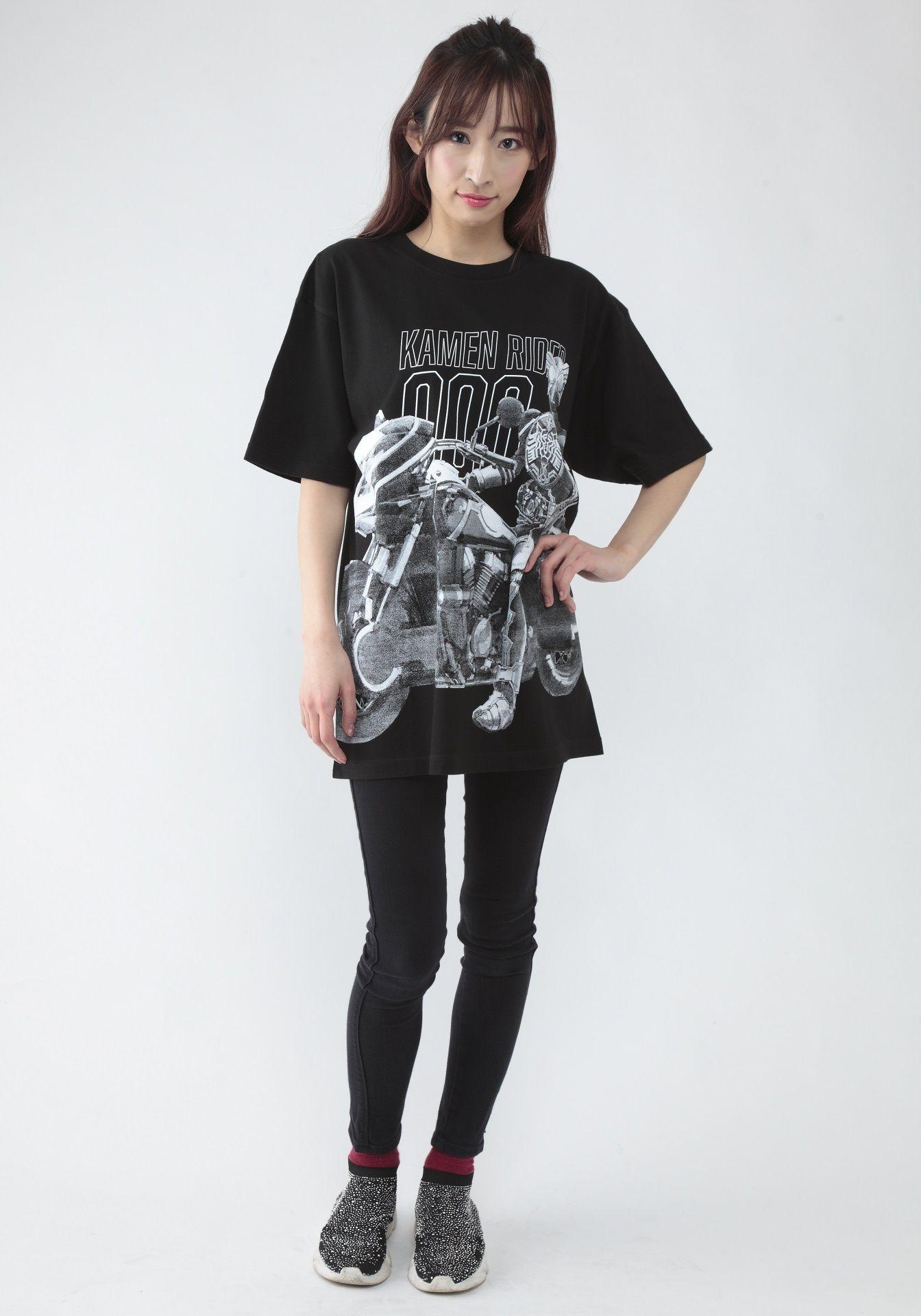 菅原芳人計畫 幪面超人OOO 與 Ride Vendor T-Shirt