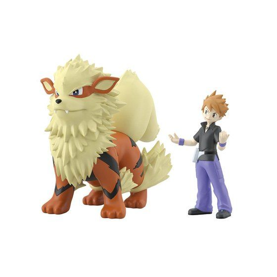 Pokemon Scale World Kanto Green & Arcanine [2020年1月發送]