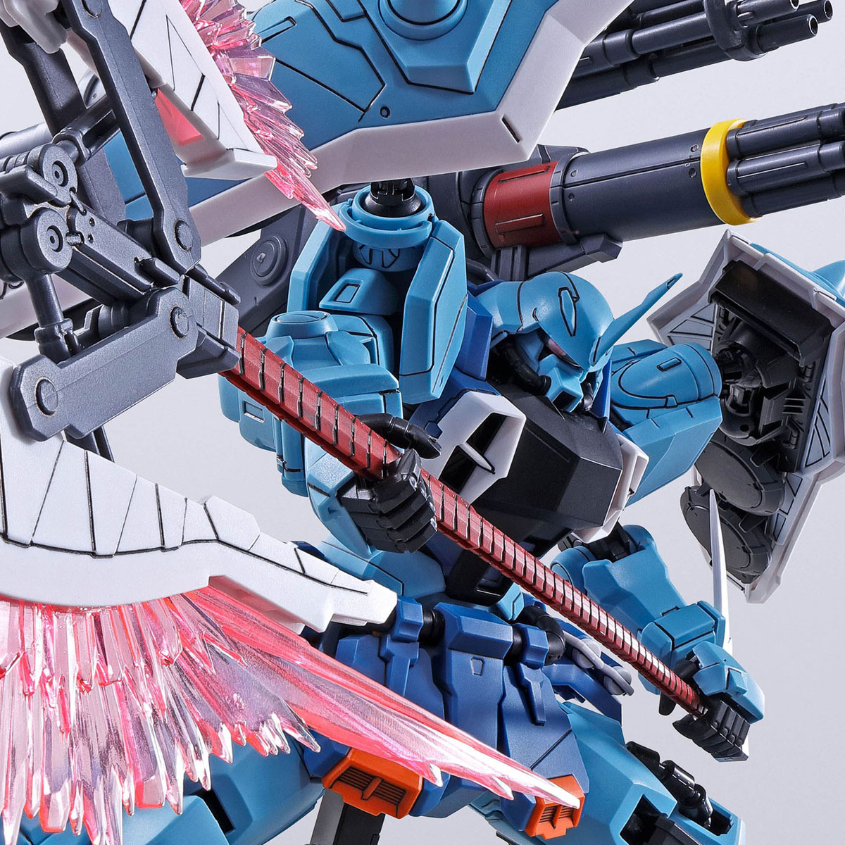 MG 1/100 SLASH ZAKU PHANTOM (YZAK JULE CUSTOM)