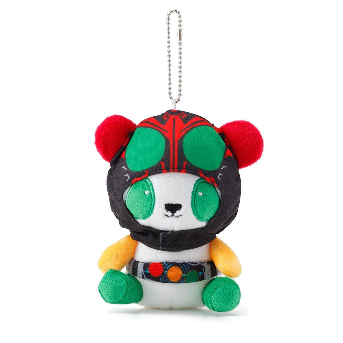 幪面超人OOO 熊貓公仔掛飾