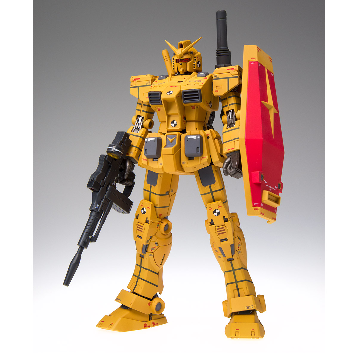 GUNDAM FIX FIGURATION METAL COMPOSITE RX-78-01[N] GUNDAM LOCAL TYPE [ROLLOUT COLOR]
