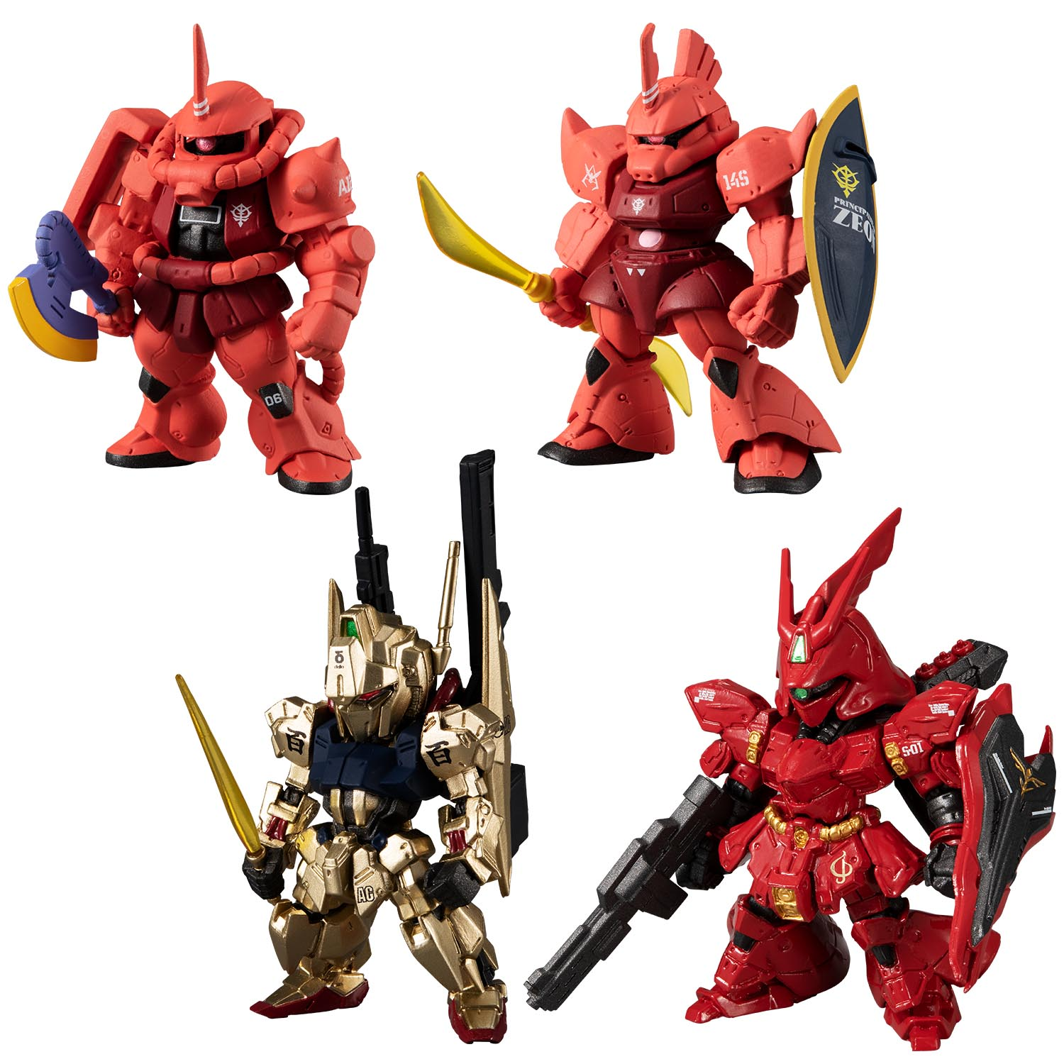 FW GUNDAM CONVERGE: CORE A TRACK OF RED COMET