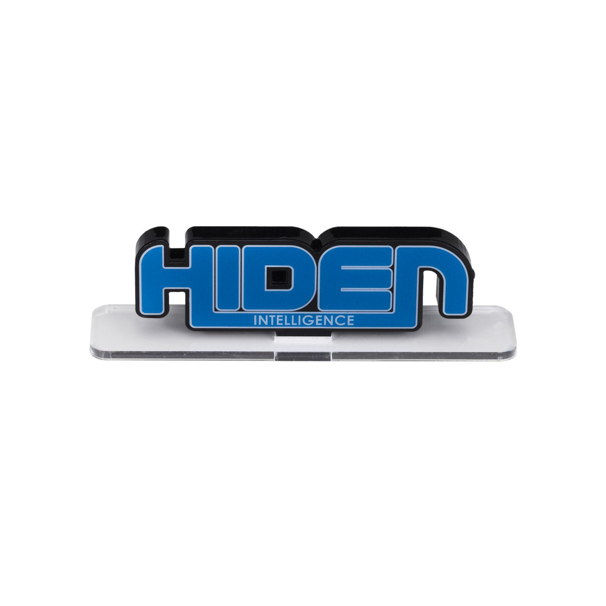 ACRYLIC LOGO DISPLAY EX 幪面超人零一 HIDEN INTELLIGENCE