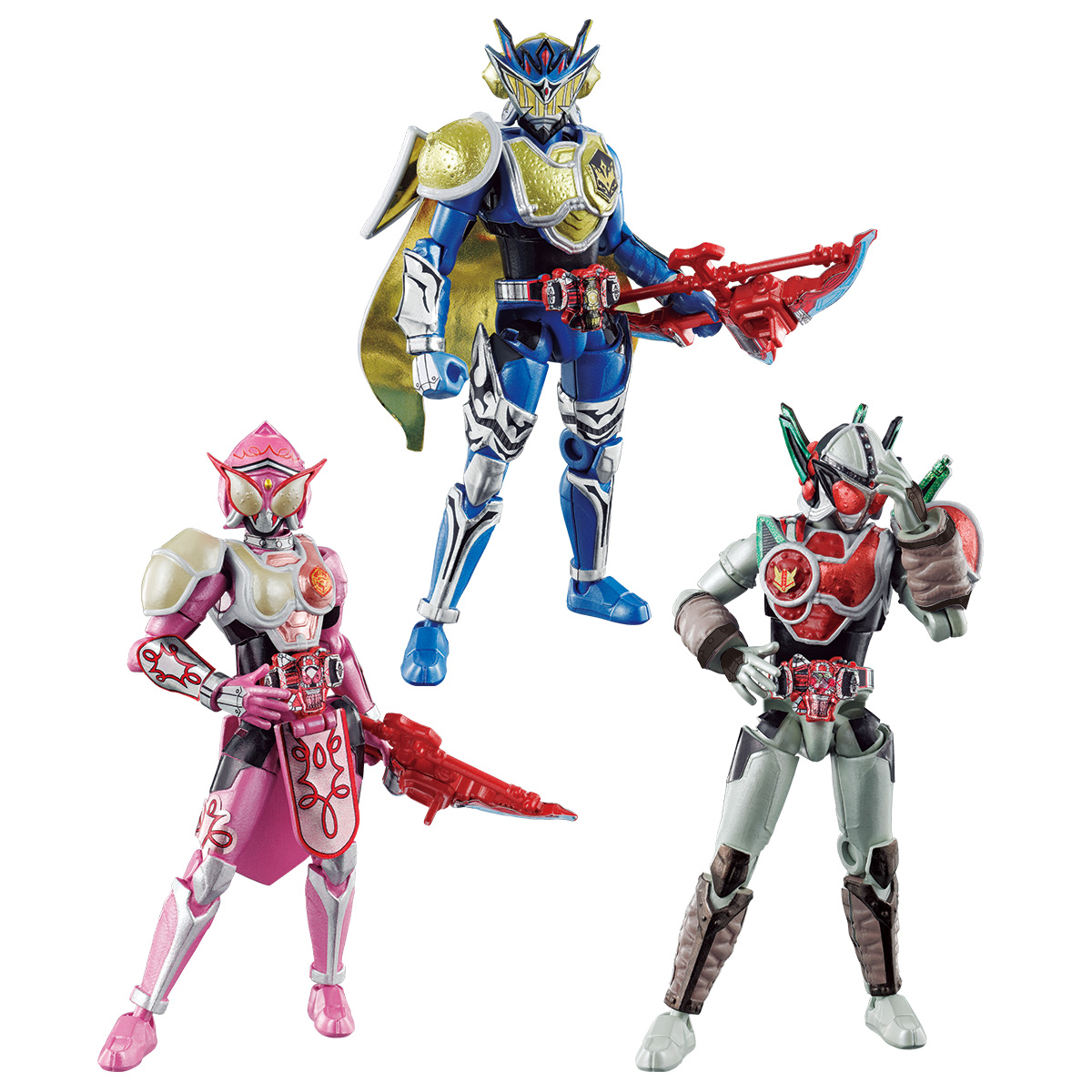 SO-DO CHRONICLE KAMEN RIDER GAIM GENESIS RIDER SET W/O GUM