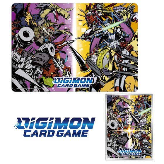 DIGIMON CARD GAME TAMER GOODS SET