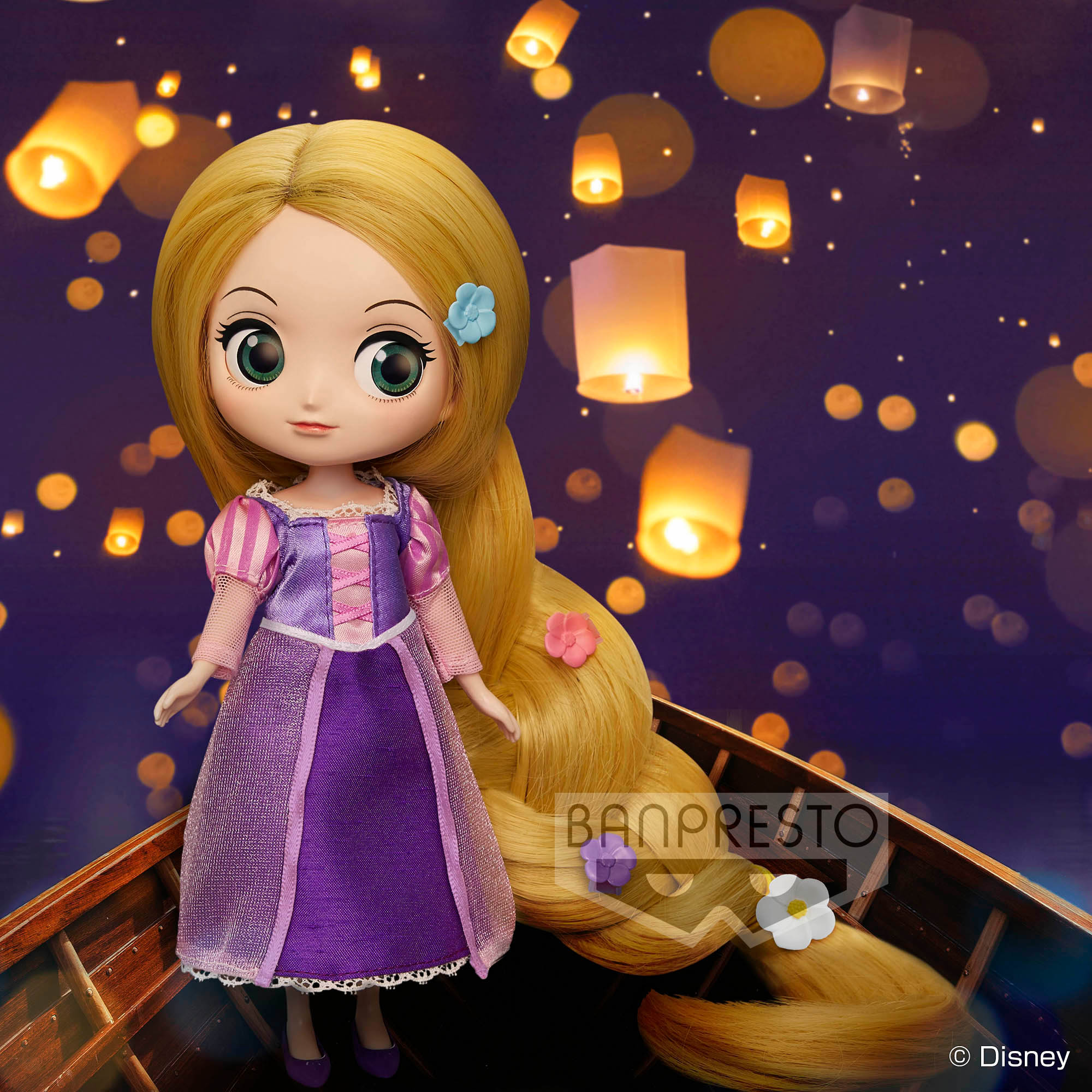 <免運費> Q posket Doll ~Disney Princess Rapunzel~