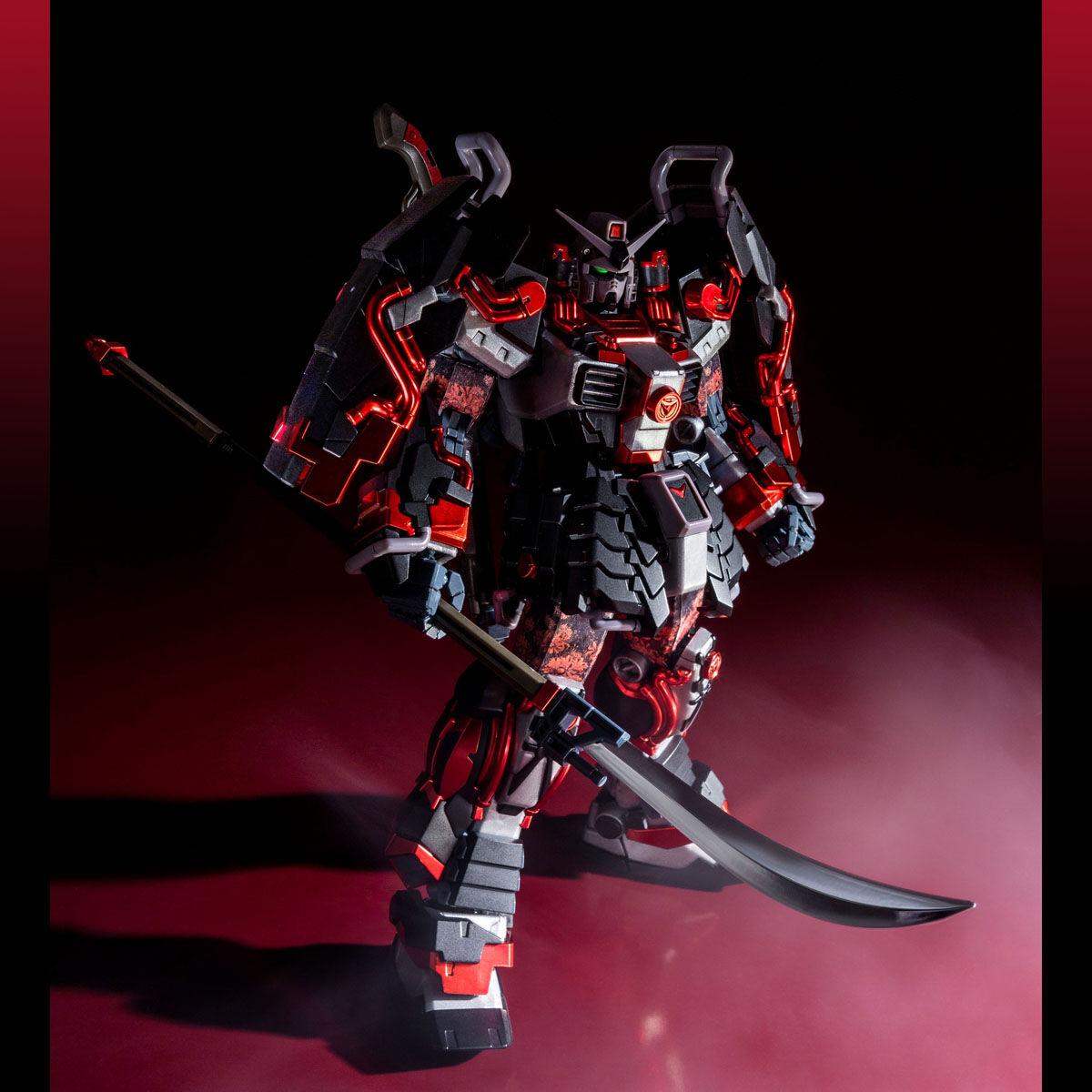 MG 1/100 SHIN MUSHA GUNDAM SENGOKU NO JIN BLACK ROBE LARGE ARMOR [Feb 2022 Delivery]