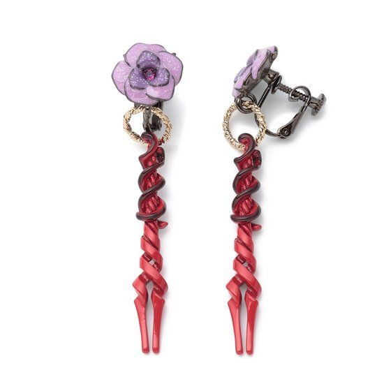 The Spear of Longinus Earrings/Clip On Earrings—Evangelion/Anna Sui Collaboration Earrings   [Dec 2021 Delivery]