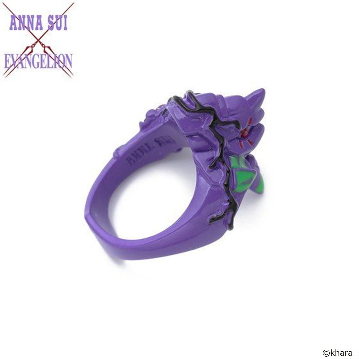 Evangelion: EVA-01 Ring—Evangelion/Anna Sui Collaboration  [Dec 2021 Delivery]
