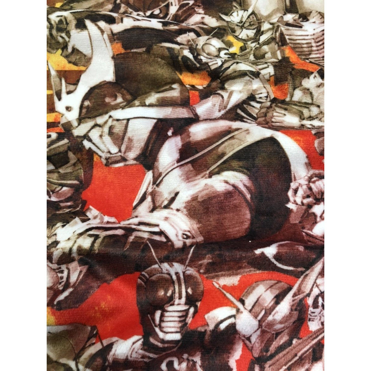 Kamen Rider 50th Anniversary Bath Towel