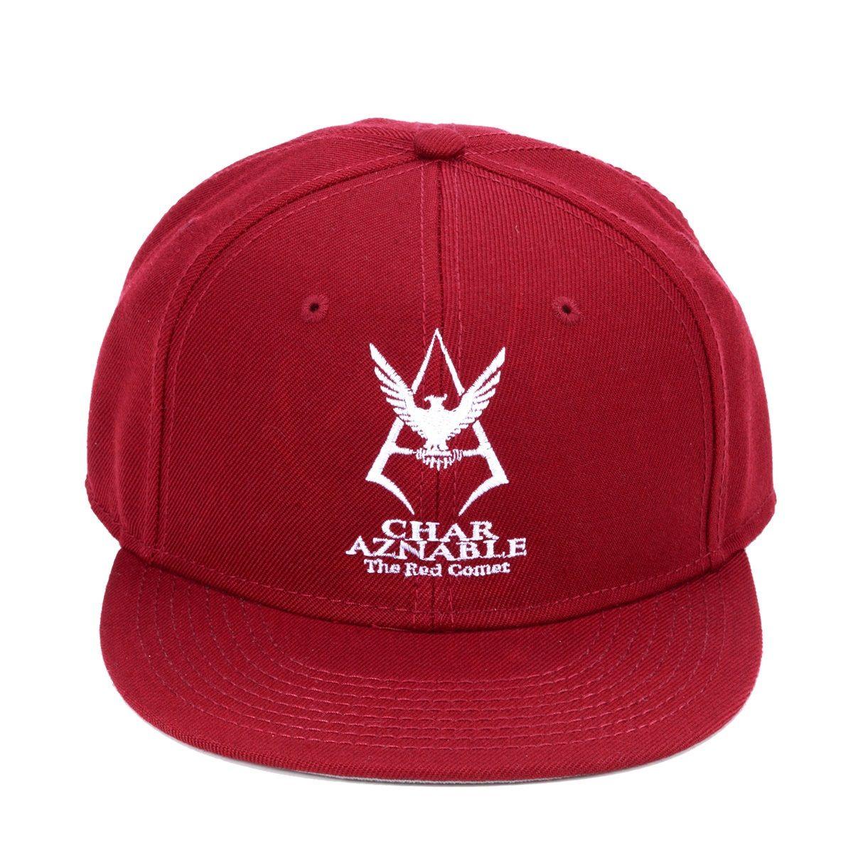 Mobile Suit Gundam Char Aznable Logo Cap