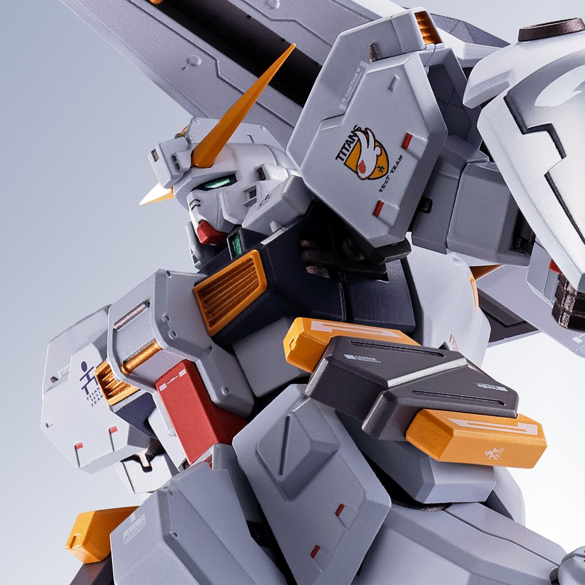 METAL ROBOT SPIRITS <SIDE MS> GUNDAM TR-1 [HAZEL CUSTOM] &OPTION PARTS SET