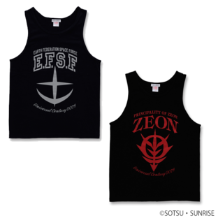 E.F.S.F MOBILE SUIT / ZEON MOBILE SUIT GUNDAM TANK TOP  [2017年7月發送]