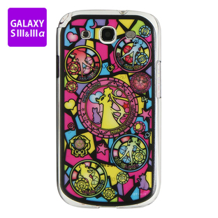 Cover for GALAXY S III&III alpha SAILOR MOON Stained Glass