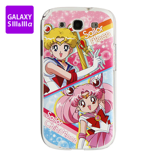 Cover for GALAXY S III&III alpha SAILOR MOON Sailor Moon and Sailor Chibi Moon