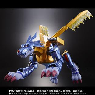 D-arts Metal Garurumon