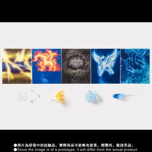 聖鬥士聖衣神話EX Pegasus Seiya・Sagittarius Aiolos EFFECT PARTS SET